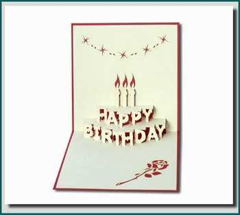 24 The Best Pop Up Greeting Card Templates Now for Pop Up Greeting Card Templates