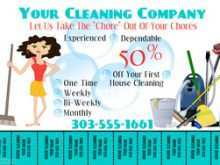 25 Adding Cleaning Service Flyer Template Templates with Cleaning Service Flyer Template