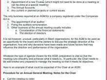 25 Best Agm Agenda Not For Profit Template Maker with Agm Agenda Not For Profit Template