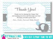 25 Best Baby Thank You Card Template Printable Now with Baby Thank You Card Template Printable