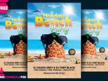 25 Blank Beach Flyer Template Free For Free for Beach Flyer Template Free