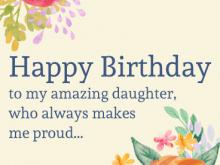 25 Blank Birthday Card Template Daughter Photo for Birthday Card Template Daughter