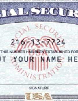 25 Blank Make A Social Security Card Template Psd File With Make A Social Security Card Template Cards Design Templates
