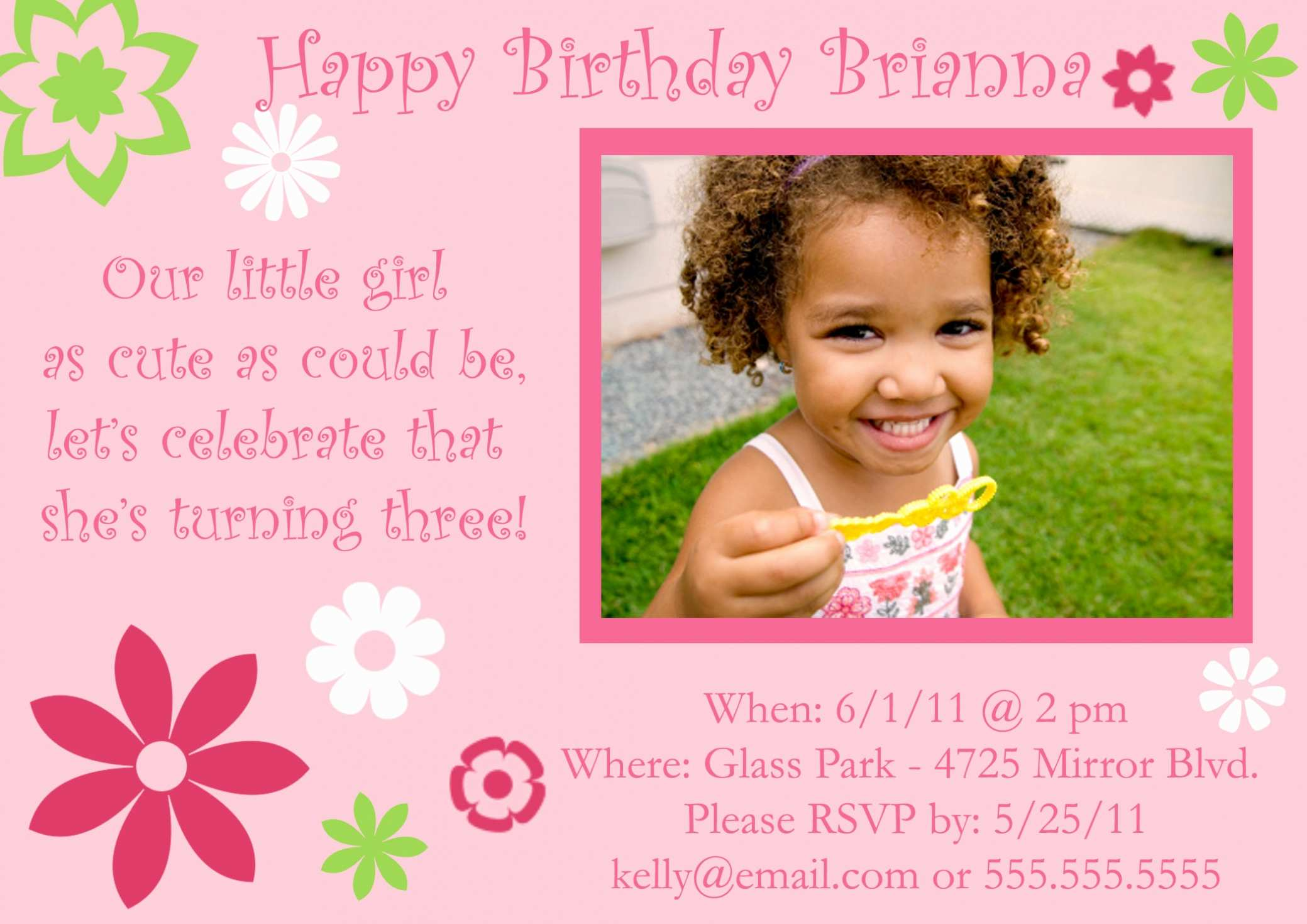 25 Create 5 Year Old Birthday Card Template in Word with 5 Year Old Birthday Card Template
