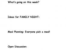 25 Create Agenda Template For Family Meetings Formating with Agenda Template For Family Meetings