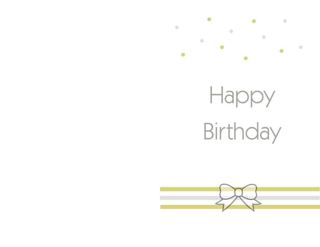 25 Create Birthday Card Template Word Free For Free with Birthday Card Template Word Free