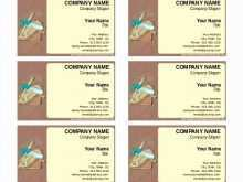 25 Create Business Card Template Word 2003 Formating by Business Card Template Word 2003