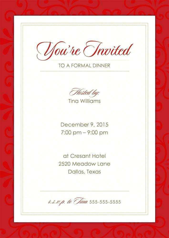 25 Create Business Invitation Card Template Word With Stunning Design by Business Invitation Card Template Word