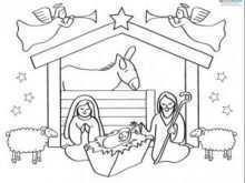 25 Create Christmas Card Nativity Templates Now for Christmas Card Nativity Templates