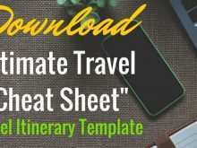 25 Creative 3 Day Travel Itinerary Template for Ms Word for 3 Day Travel Itinerary Template