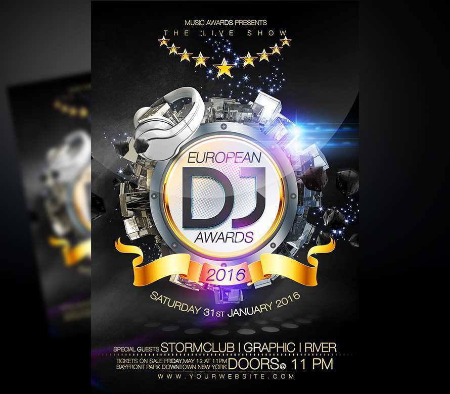 25 Creative Awards Flyer Template Templates with Awards Flyer Template