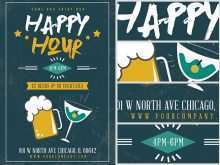 25 Creative Happy Hour Flyer Template Free with Happy Hour Flyer Template Free
