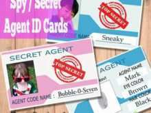 25 Customize Our Free Agent Id Card Template For Free for Agent Id Card Template