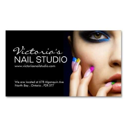 25 Customize Our Free Business Card Template Nail Technician Now for Business Card Template Nail Technician