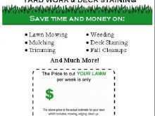 25 Customize Our Free Lawn Mowing Flyer Template Now with Lawn Mowing Flyer Template