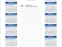 25 Customize Our Free Yearly Class Schedule Template Download with Yearly Class Schedule Template