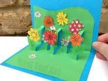 25 Customize Pop Up Flower Card Tutorial Handmade Formating by Pop Up Flower Card Tutorial Handmade