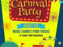 25 Format Carnival Themed Flyer Template in Photoshop for Carnival Themed Flyer Template