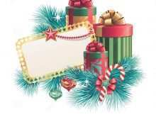 25 Free Christmas Card Box Template Layouts for Christmas Card Box Template