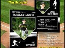 25 How To Create Baseball Name Card Template For Free by Baseball Name Card Template
