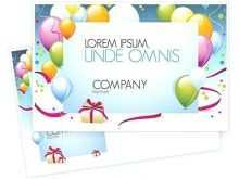 Birthday Card Template Indesign Free