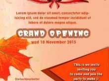 25 Online Invitation Card Format For Restaurant Opening Maker with Invitation Card Format For Restaurant Opening