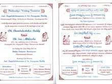 25 Online Wedding Card Designs Templates Telugu PSD File for Wedding Card Designs Templates Telugu