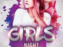 25 Printable Ladies Night Flyer Template Free in Word for Ladies Night Flyer Template Free
