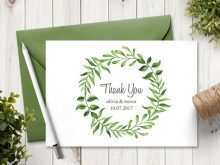 Thank You Card Template Printable Word
