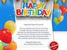 25 Report Birthday Reminder Card Template With Stunning Design for Birthday Reminder Card Template