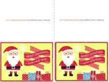 Christmas Card Templates To Print At Home