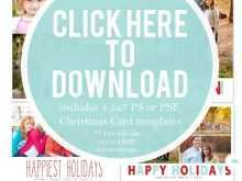 Holiday Christmas Card Templates Free