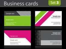 Business Card Template On Pages