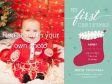 25 The Best Christmas Stocking Card Template PSD File with Christmas Stocking Card Template
