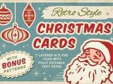 25 The Best Vintage Christmas Photo Card Templates Formating for Vintage Christmas Photo Card Templates