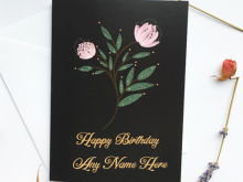 Birthday Card Maker Online With Name