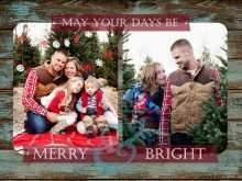 26 Best Free Rustic Christmas Card Templates With Stunning Design with Free Rustic Christmas Card Templates