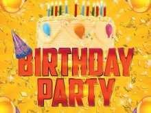 26 Blank Birthday Flyer Template Photoshop PSD File by Birthday Flyer Template Photoshop