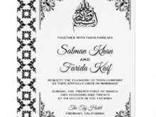 26 Blank Invitation Card Format Muslim With Stunning Design with Invitation Card Format Muslim