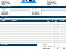 26 Create Construction Invoice Template in Word for Construction Invoice Template
