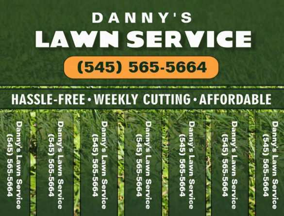 26 Create Free Lawn Mowing Flyer Template Templates by Free Lawn Mowing Flyer Template