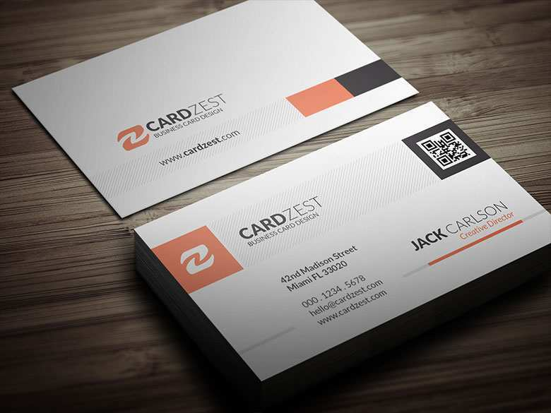 26 Creative Business Card Template Qr Code in Word by Business Card Template Qr Code