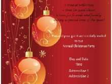 26 Format Christmas Invitation Flyer Template Free in Photoshop by Christmas Invitation Flyer Template Free