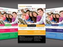 26 Format Education Flyer Templates in Photoshop with Education Flyer Templates