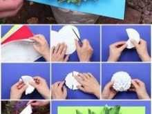 26 Free Printable 3D Flower Pop Up Card Tutorial Step By Step for Ms Word with 3D Flower Pop Up Card Tutorial Step By Step