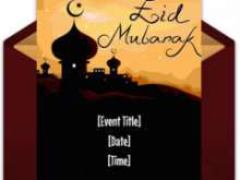 26 Free Printable Eid Card Templates Online for Ms Word for Eid Card Templates Online
