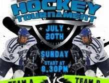26 Free Printable Free Hockey Flyer Template Layouts by Free Hockey Flyer Template