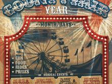 26 How To Create County Fair Flyer Template Templates by County Fair Flyer Template