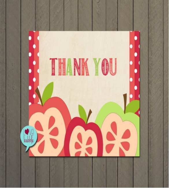 26 How To Create Thank You Card Templates For Teachers With Stunning Design with Thank You Card Templates For Teachers