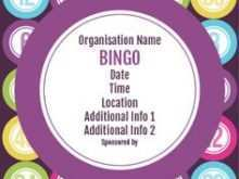 26 Online Bingo Flyer Template Free Layouts with Bingo Flyer Template Free